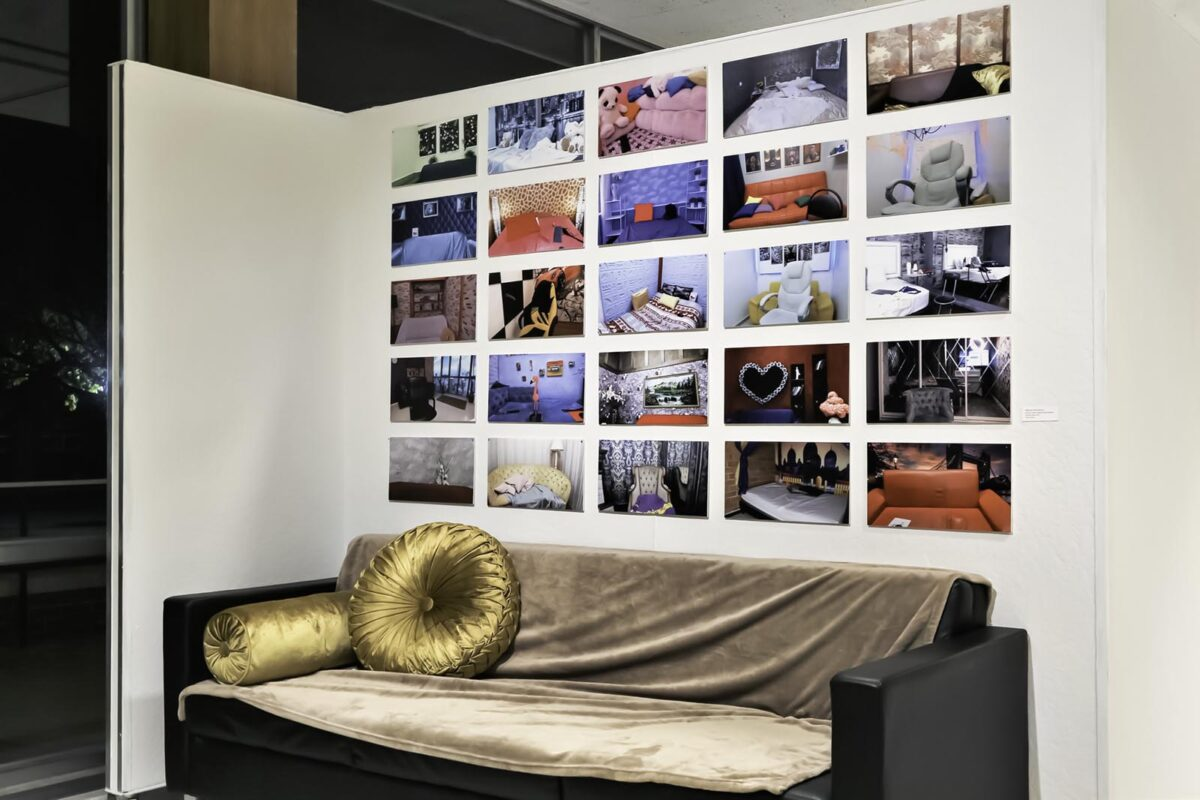 Webcam Aesthetics (installation shot)