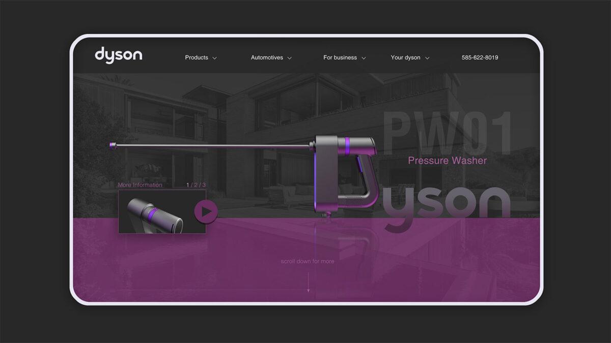 Dyson Pressure Washer Concept